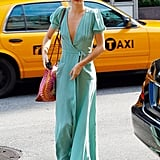 Miranda Kerr left her NYC apartment.