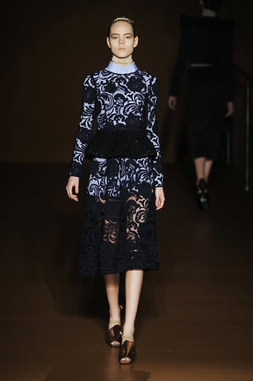 Catwalk Trend Autumn Winter 2008 Lace Trend Prada