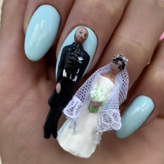 Prince Harry and Meghan Markle Nail Art