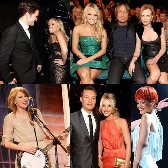 Pictures of Robert Pattinson, Reese Witherspoon, Taylor Swift, and Rihanna at ACM Awards 2011-04-04 08:06:51
