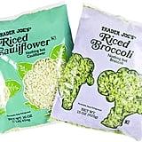 Riced Cauliflower and Riced Broccoli ($2)