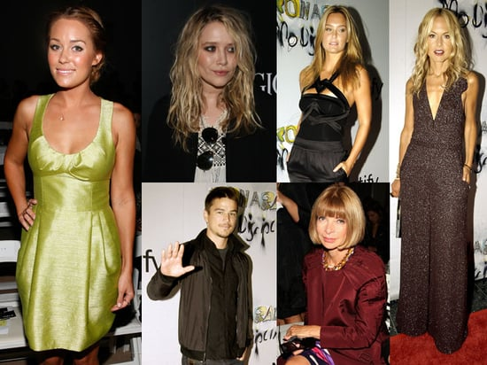 Photos of Kristin Cavallari, Lauren Conrad, Anna Wintour, and Mary-Kate Olsen During Spring 2010 New York Fashion Week