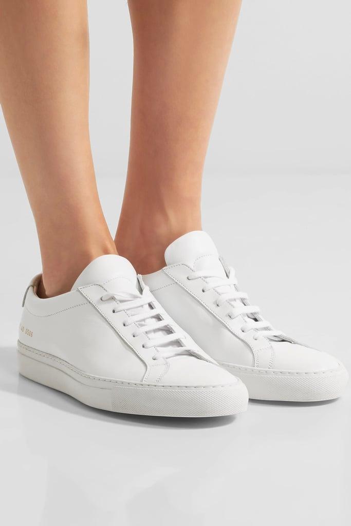 common projects original achilles stylish white sneakers popsugar fashion photo 3. Black Bedroom Furniture Sets. Home Design Ideas
