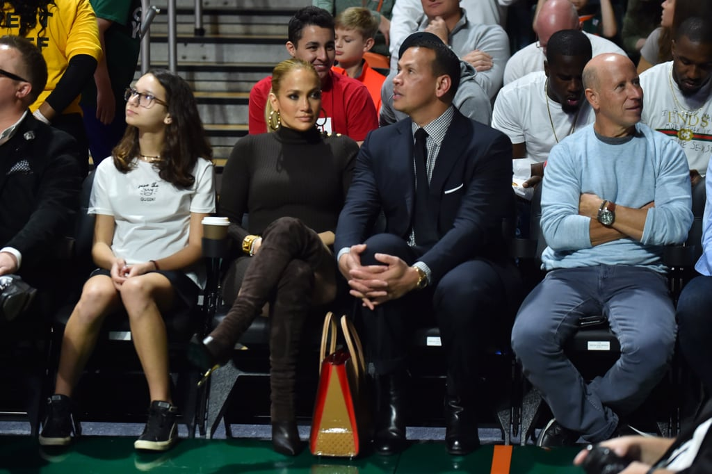Jennifer Lopez Wearing Black Turtleneck Sweater