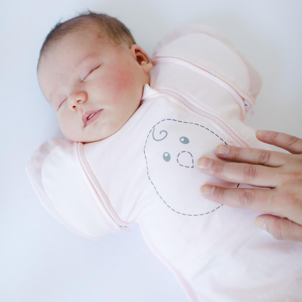 Nested Bean Zen One Classic Swaddle in Soft Pink   The ...