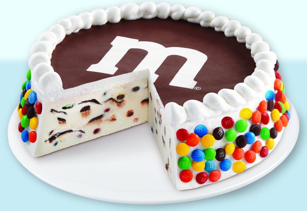 Walmart's M&M's Minis Ice Cream Cake