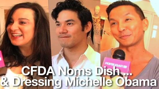 2010 CFDA Nominees and Michelle Obama