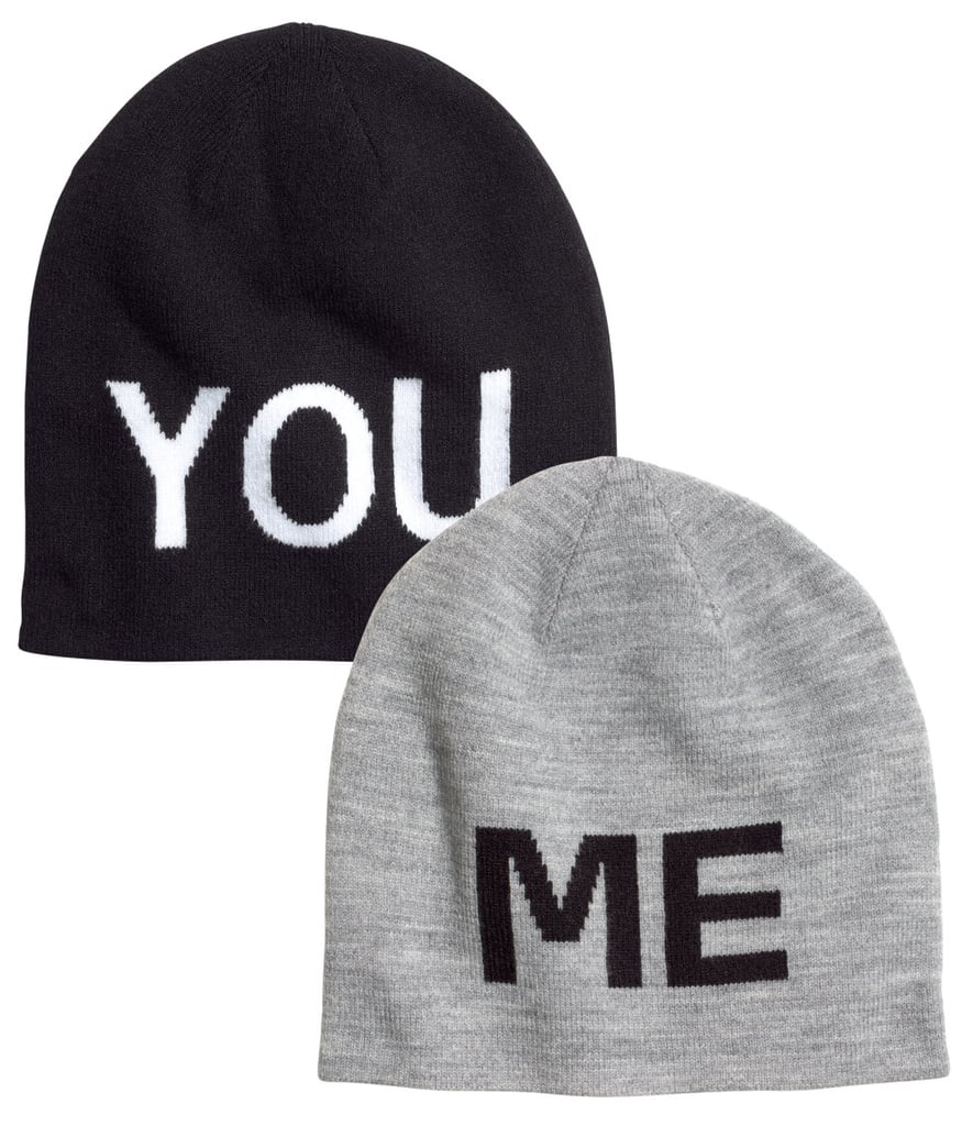 These H&M You and Me Beanies ($10) are the $10 stuffers you can keep half of — how sweet is that?