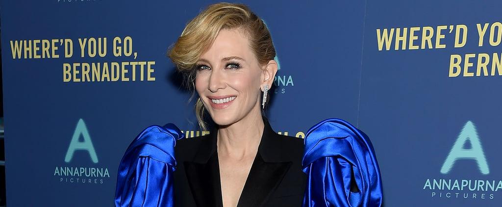 Cate Blanchett Where'd You Go Bernadette Press Tour Outfits