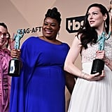 Lori Petty, Adrienne Moore, Laura Prepon, and Uzo Aduba