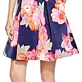 Eliza J Sleeveless Floral Belted Fit and Flare Dress ($158)