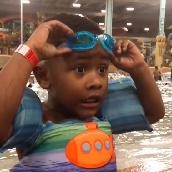 Little Boy Can't Find His Goggles Viral Video