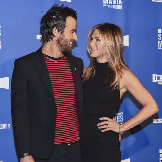 Jennifer Aniston and Justin Theroux in Paris 2017