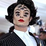 Ezra Miller Met Gala Makeup 2019