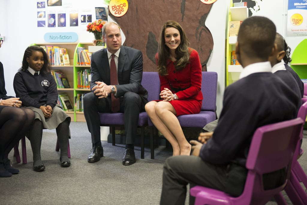 Kate Middleton and Prince William in London February 2017