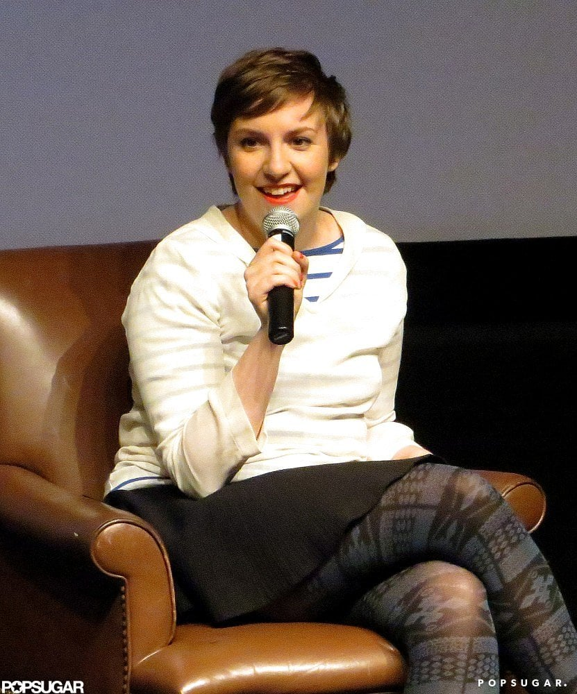 Lena Dunham hosted a film screening at the Museum of Fine Arts in Boston.