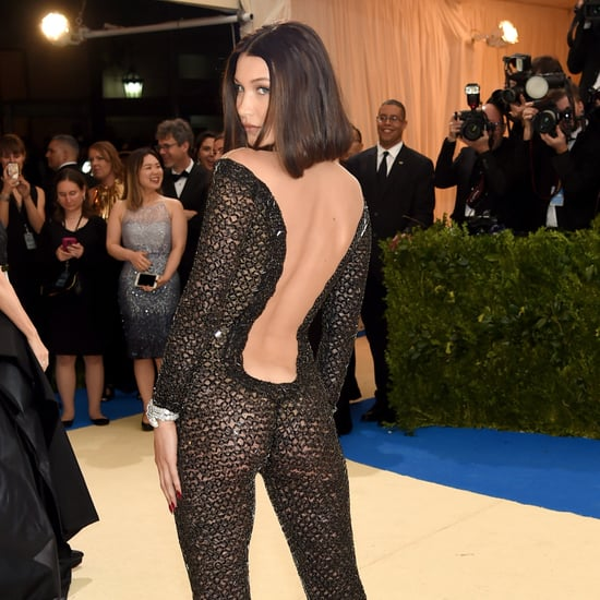 Bella Hadid Wears Alexander Wang to the Met Gala 2017
