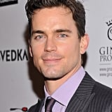 Matt Bomer smirked for cameras at the Creative Coalition event Sunday.