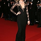 10. Cara Delevingne in Burberry at the Cannes Film Festival