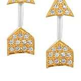 Earrings, approx $50, Kevia at The Outnet