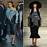 Rihanna, 1 Day After Runway