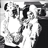 A Dalmation and Cruella de Vil