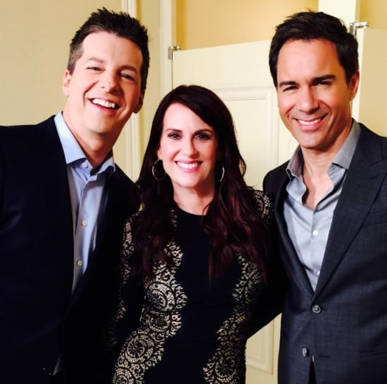 Will and Grace Reboot Instagram Photos