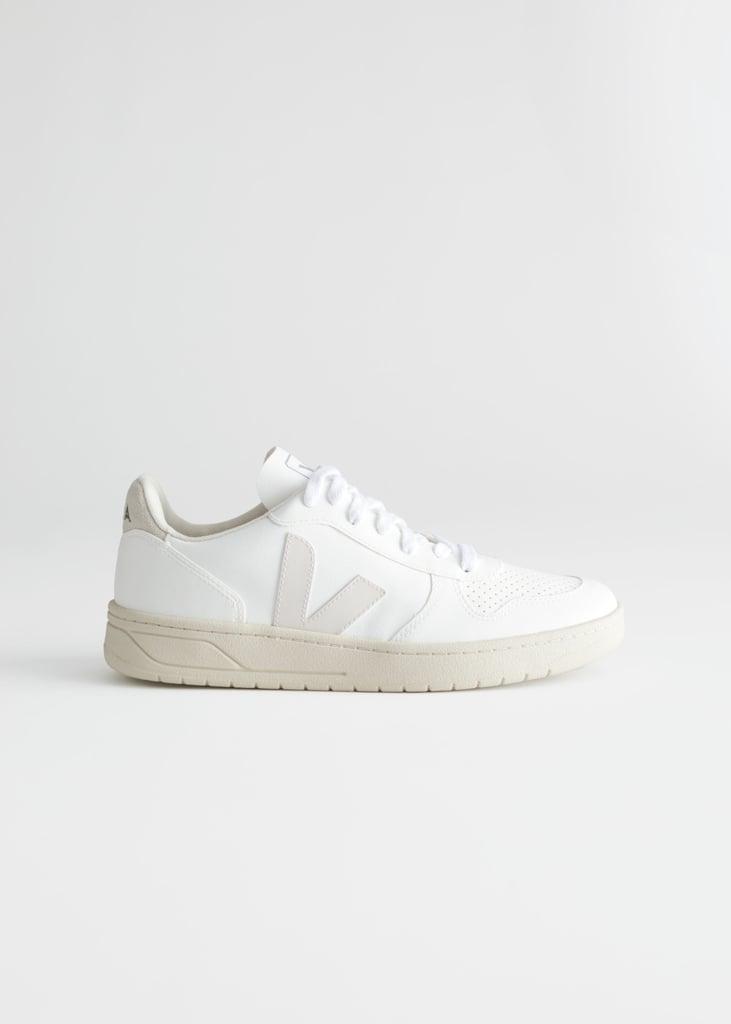 Veja V-10 Vegan White Sneakers