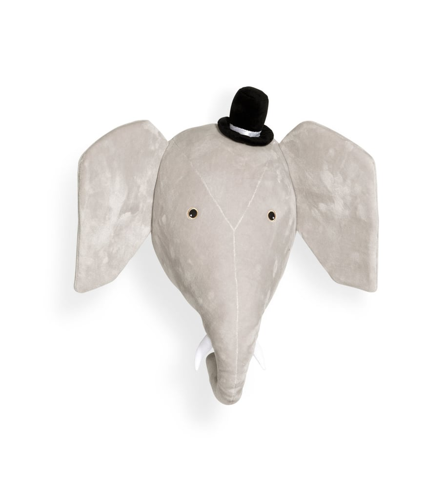 Elephant Head Wall Decor