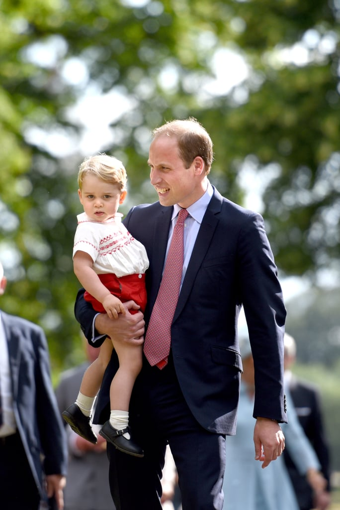 When They Bonded at Princess Charlotte's Christening