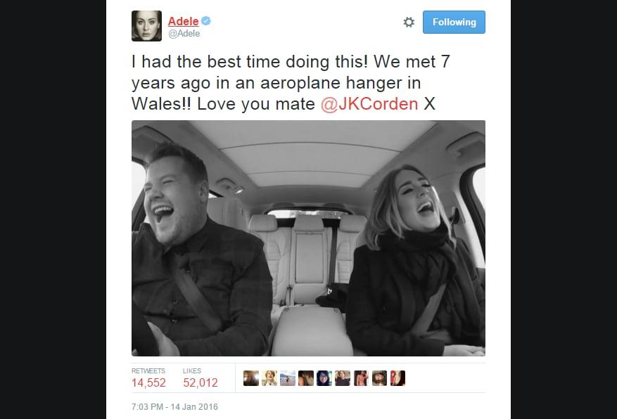 Best Celebrity Tweets January 2016