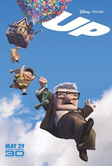 Up is the 2010 Golden Globe Winner for Best Animated Film