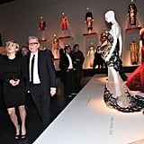 Kate Winslet at the CFDA Exhibition.