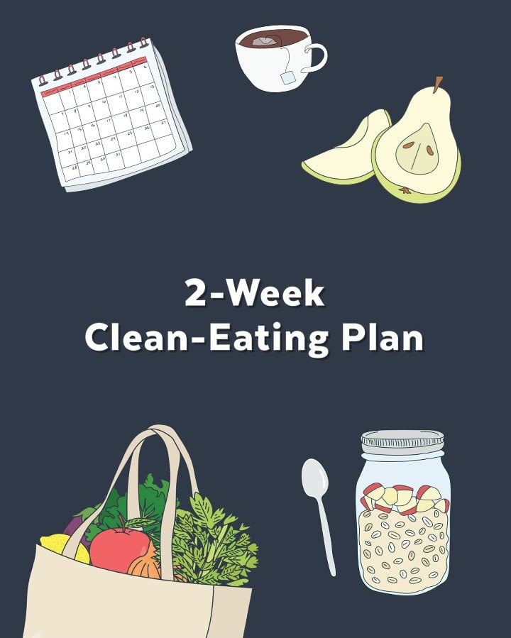 Challenge Yourself to Eat Clean For 2 Weeks