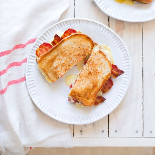 Brie and Bacon Melt