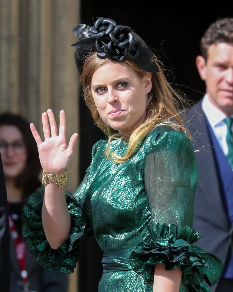 Princess Beatrice at Ellie Goulding's Wedding