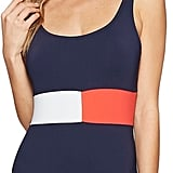 There's no doubt about the flag on the Tommy Hilfiger Retro Flag Color Block One-Piece Swimsuit ($92).