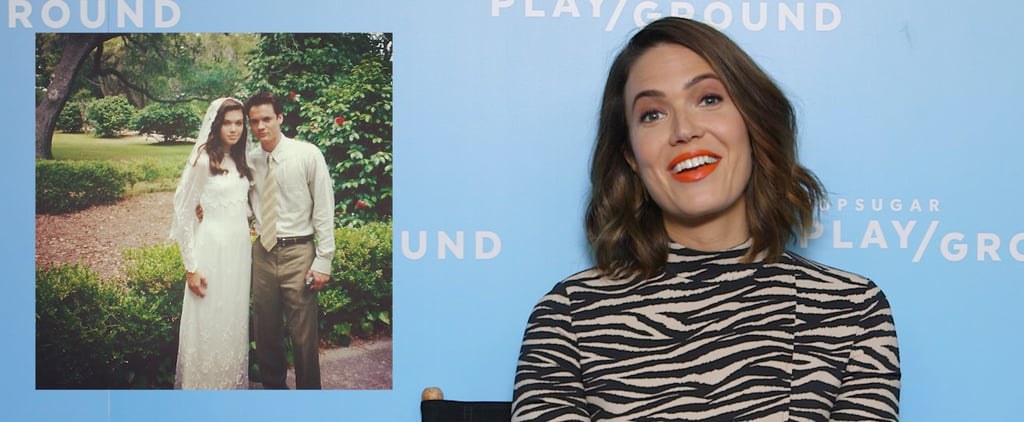 Mandy Moore Looks Back at Throwback Posts Video Interview