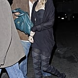 Photos of Taylor Swift and Taylor Lautner Going to Dinner in LA