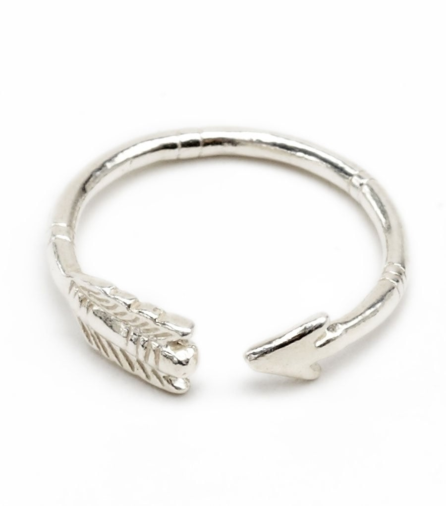 For the girl who likes to stack her rings, this Catbird arrow ring ($42) would look amazing against thin, rose gold bands.