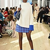 Leomie Anderson at Tory Burch Fall 2019