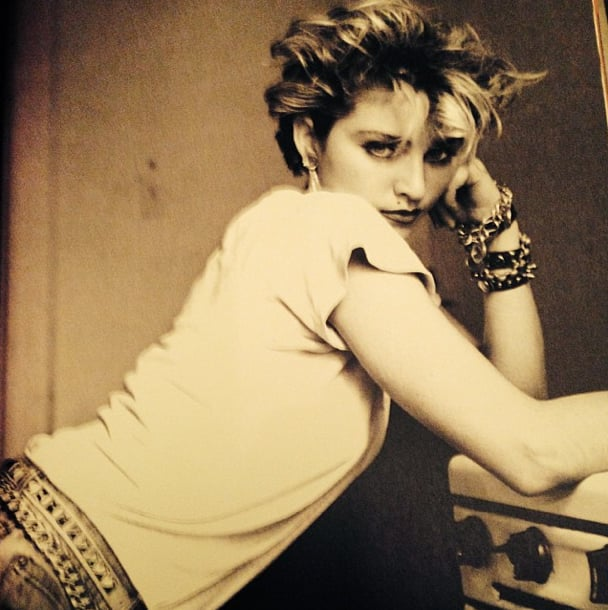 Nobody does a #TBT like Madonna. Source: Instagram user madonna