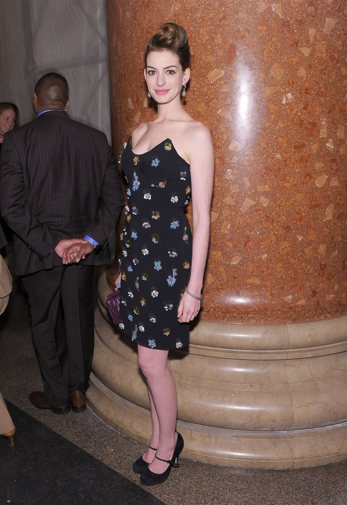 Photos of Anne Hathaway and Tina Fey