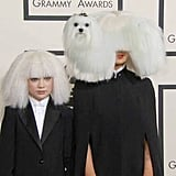 Was Sia wearing a wig? Or was it secretly a shaggy dog?