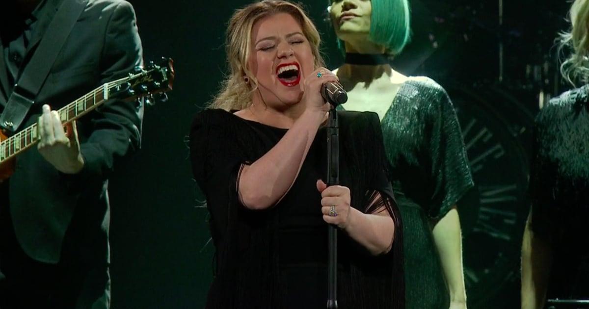 Kelly Clarkson Quot Shallow Quot Cover Popsugar Entertainment Uk