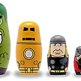Disney Avengers Wooden Nesting Doll Set