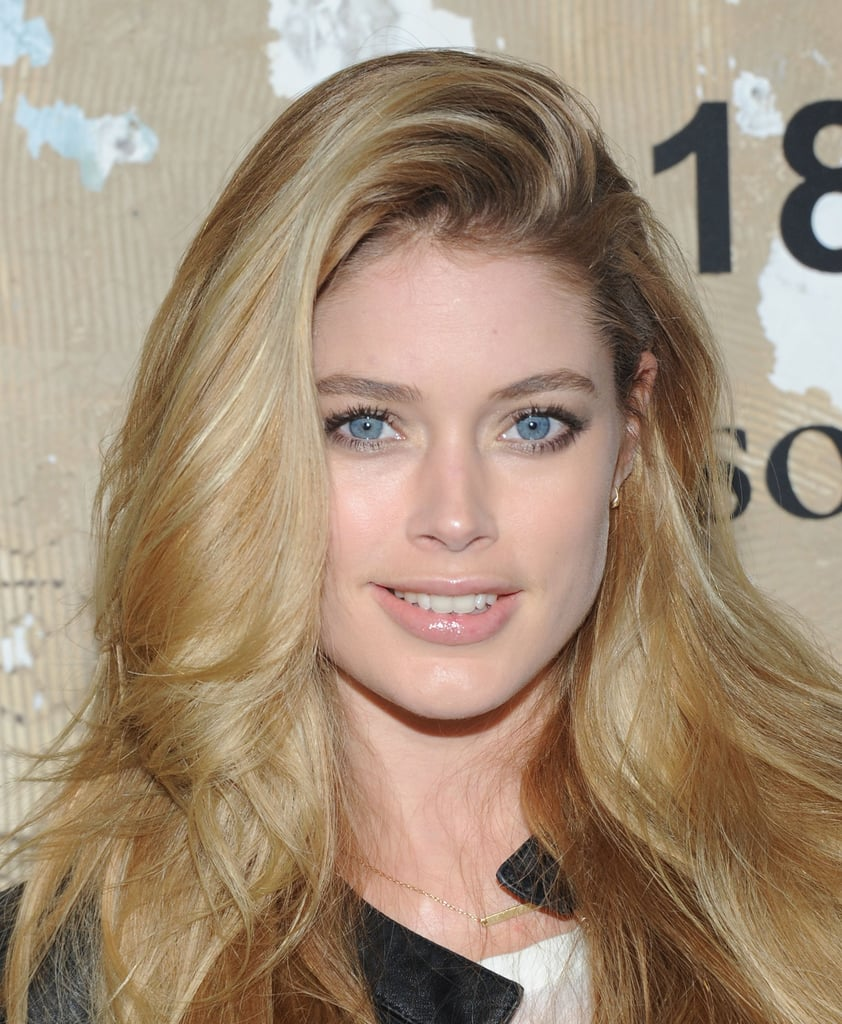 Doutzen Kroes posed for photos at the event in NYC.