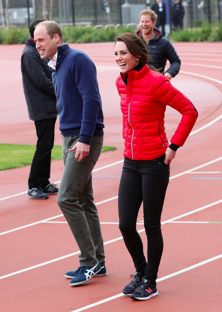 Kate Middleton Red Coat at Heads Together Training 2017 ...