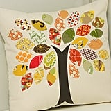 Fall Leaves Accent Pillow DIY