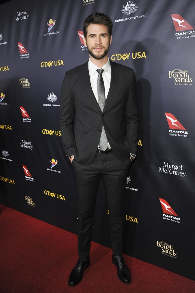 Miley Cyrus Liam Hemsworth at 2019 G'Day USA Gala Pictures